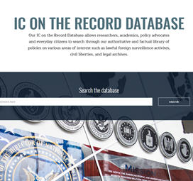 IC on the Record Database Image