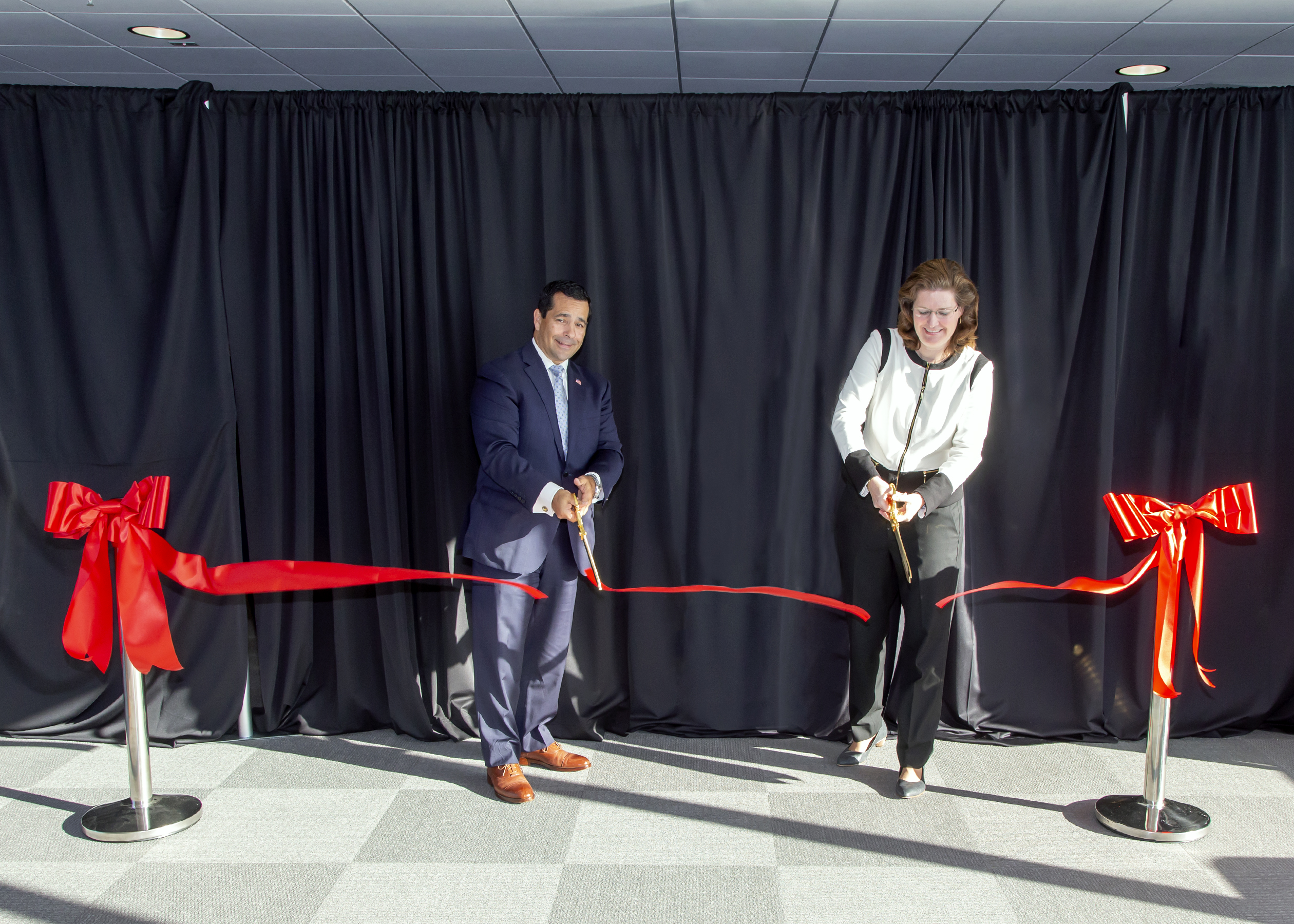 William Evanina & Patricia Larsen official open the Wall of Spies Experience