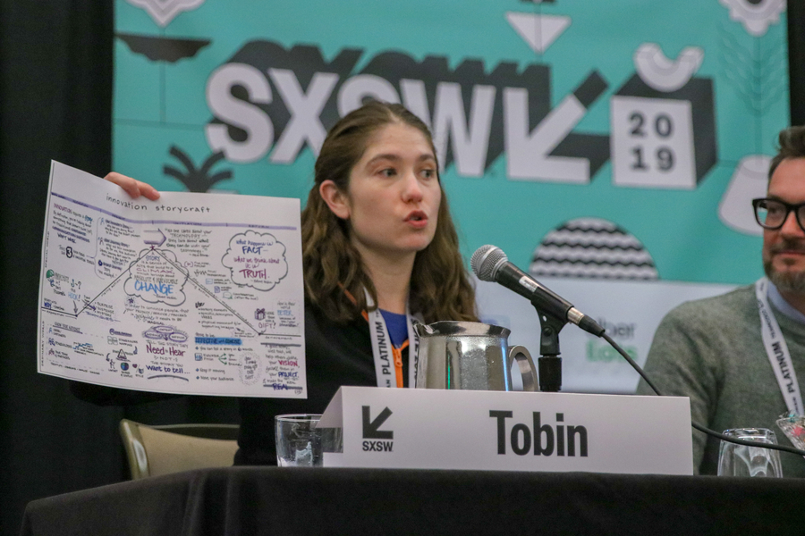 Katherine Tobin talks storytelling and innovation at SXSW 2019